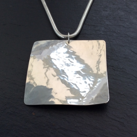 Chunky Square Necklace