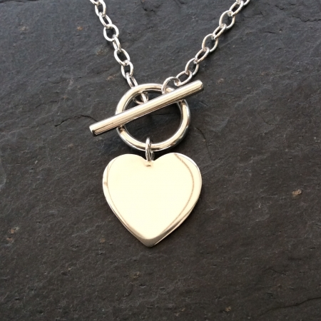 Heart Toggle Necklace