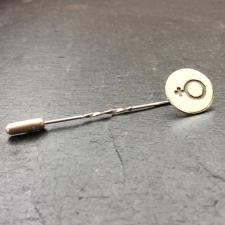 Male Symbol Tie Pin