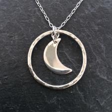 Little moon necklace