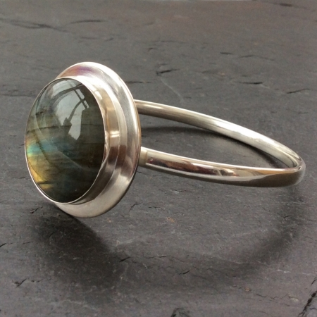 Abstract Labradorite bracelet