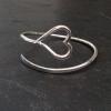 Heart end bracelet