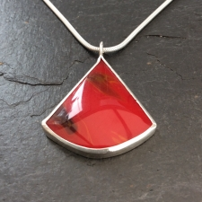 Red Bowlerite pendant