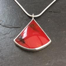Red Bowlerite pendant