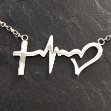 Faith Love Hope necklace