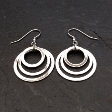 3 Rings Earrings