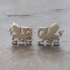 Welsh Dragon stud earrings
