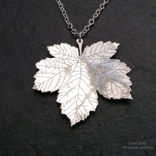 Sycamore Leaf pendant