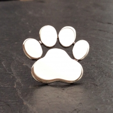 Dog Paw Print Brooch