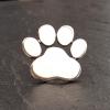 Dog Paw Print Brooch