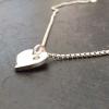 Sparkle heart necklace