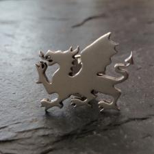 Welsh Dragon Lapel Pin / Badge