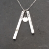 Personalised Rods Necklace
