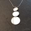 3 circles necklace
