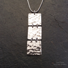 3 Squares necklace