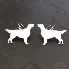 Flat-coated Retriever Earrings
