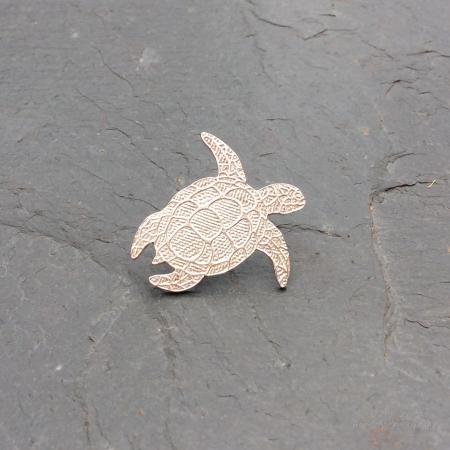 Turtle Pin Brooch