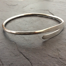 Silver Upper Arm Bangle