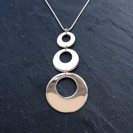 Large 3 disc necklace