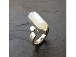 Abstract Stone Set Ring